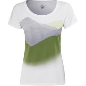 Arc'teryx Amidst - T-shirt manches courtes Femme - vert/blanc